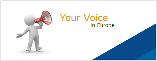 your voice in europe